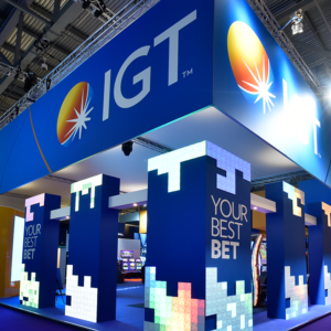 IGT's Stand at the Excel for ICE London